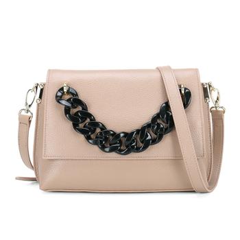 27994dd29863 Новая мода сумки через плечо цепи дизайн кожаные сумочки для леди мешок руки