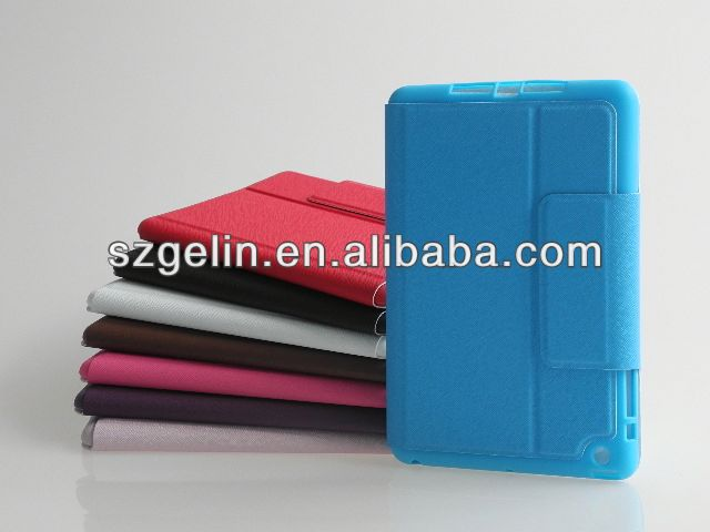 electric tension pc cover case for ipad mini