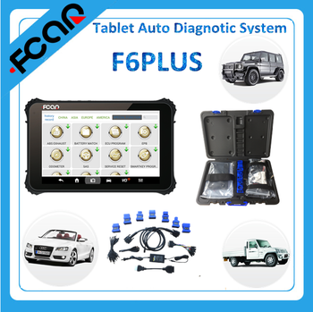 car diagnostic tool F6 PLUS auto diagnostic system with WIFI and Bluetooth