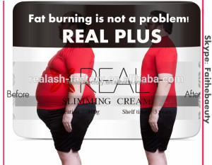 REAL PLUS Fat Burn Gel Weight Loss slim Body Cream