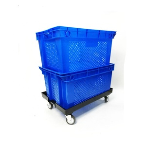 PP material stackable Heavy duty 30KG shipping harvest tomato agriculture plastic crates