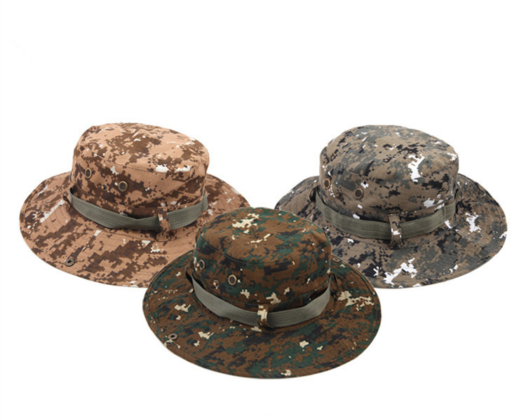 dfaf96211241d Get Quotations · High quality Outdoors Camouflage hat ben boonie hat  sunbonnet fishing