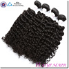 Raw Human Natural Black Hair Weave Extensions Factory Price Virgin Indian Curly Hair
