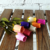 Wholesale Artificial Wooden Roses Buds Half Open Roses For decoration