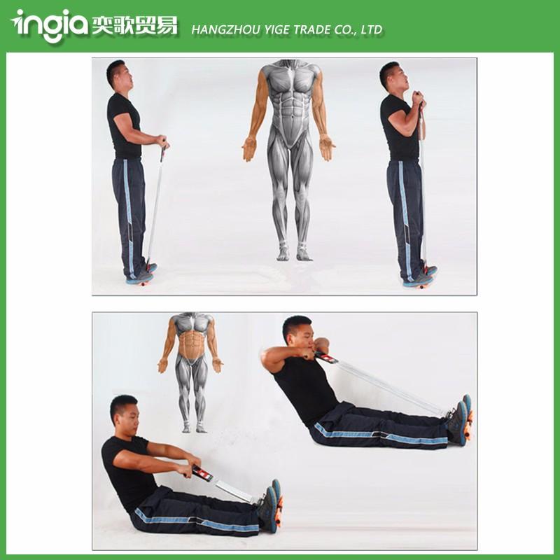 Arm-Übungen Einstellbare Stärke Trainer Exerciser Trainings Arm Maschine ziehen