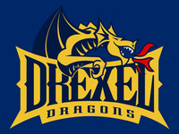 New Design Customized Drexel Dragons flags With Polyester