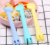 Food grade silicone baby training spoon baby Teether / Giraffe shape baby food supplement tableware