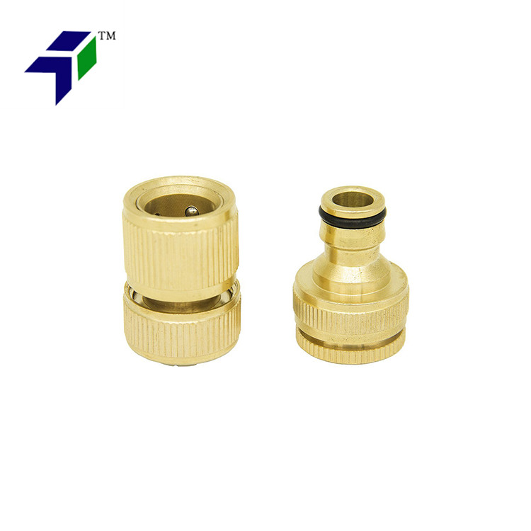 Nipple Washing hold Garden Hose Quick Connects Coupling Fitting 34 NPT Thread Faucets