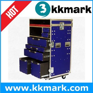 Multi function Drawer Flight Case/ABS Flight Case/Flight Cases with Drawer