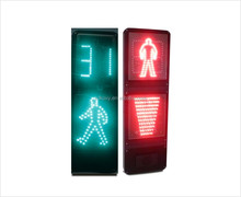 400mm Static Pedestrian+ Light Band+Countdown timer led Traffic Signal Light