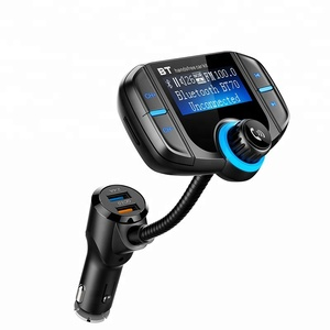 2019 Hottest USB Handsfree Wireless Car MP3 FM Transmitter Modulator For Car Audio AUX