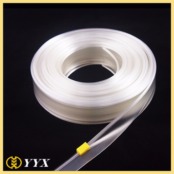 Clear Plastic Roll Long Chain PVC Zipper