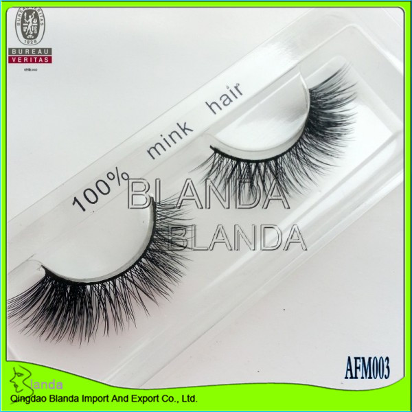 Top Rank house of lash 100% human hair Lashes custom eyelash packaging free sample