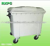 4 Wheeled Waste Container 660 Liter 770 Liter 1100 Liter