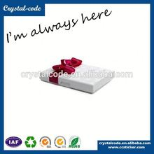 environmental factory sale glossy lamination paper box for gift