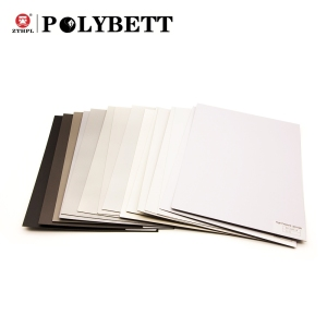 Competitive price off white and 0.6mm 0.8mm 1mm thick hpl high pressure wood grain laminate sheet for office furniture table