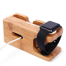 Wholesale Low Cost Mobile Phone Wood Holder Stand For Apple Watch 1/2