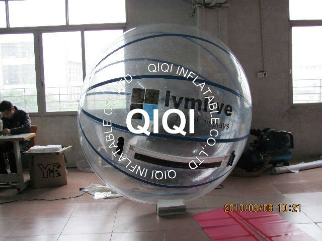 Outdoor interesting giant inflatable water ball