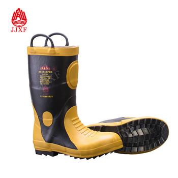 4155ea6ec3b EN 15090 Metal Toe Steel Sole Insulating Waterproof Firefighting Used Fire  Boots, View fire boots, JJXF Product Details from Jiujiang Fire Fighting ...