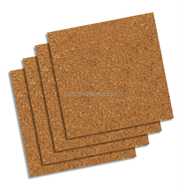 "Natural Cork Tiles create a Custom Cork Bboard, 12""*12"", 4pack, Cork Bulletin Board"
