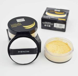 Menow Makeup F16007 Luxury Banana Powder Face Oil-control Loose Powder Foundation