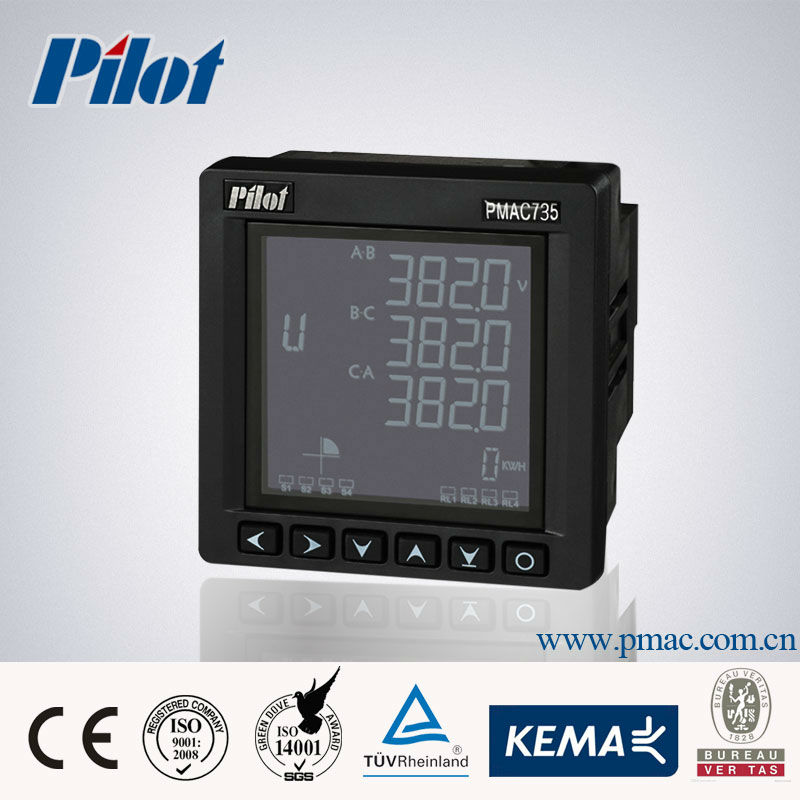 PMAC735 three phase multifunction digital power meter price