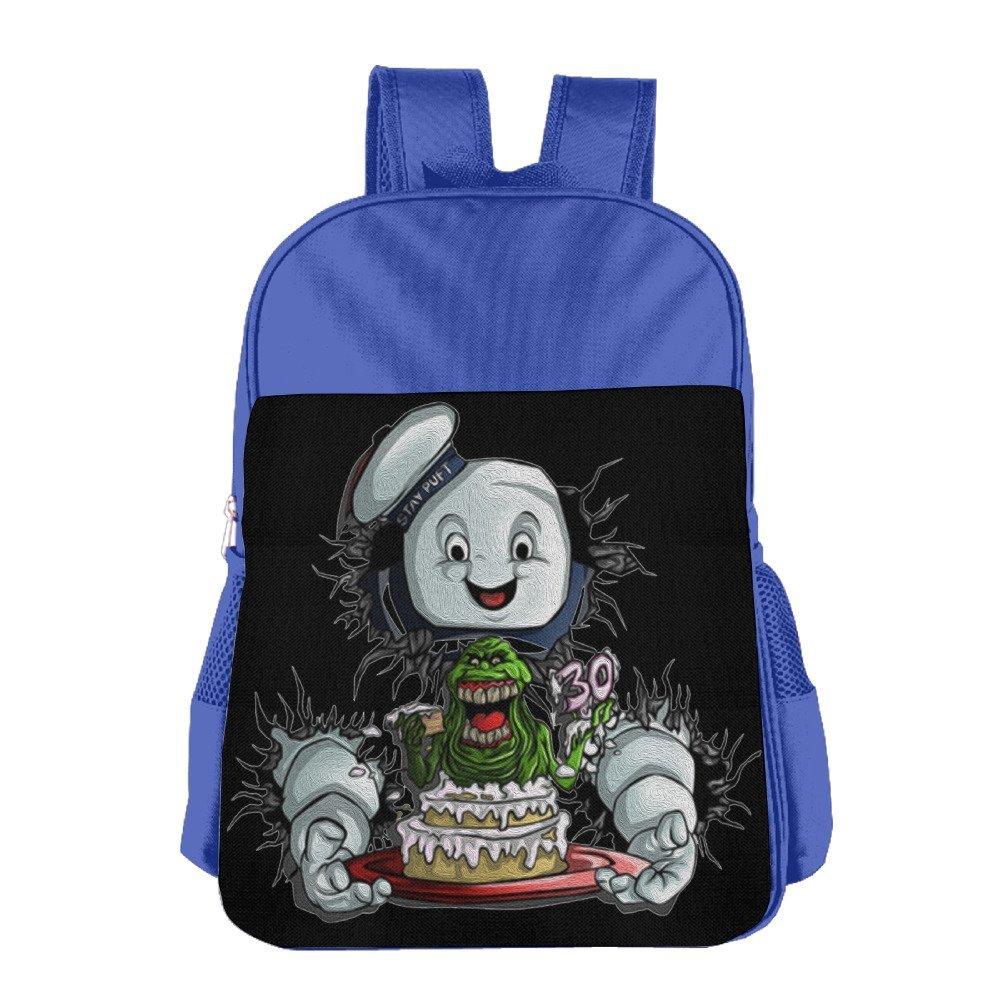 Ghostbusters Movie Cartoon Kids 4 15 Age Book Bag Royalblue