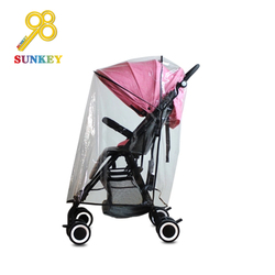 Babies r us double stroller rain cover safety