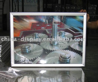 A3 A4 aluminum alloy diploma picture frame snap frame