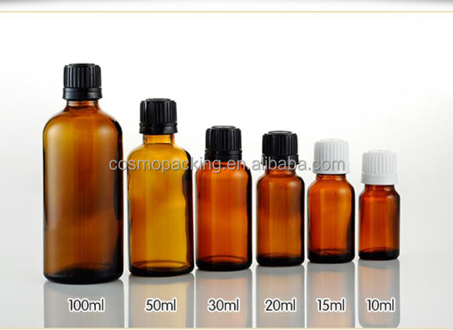 China factory 5ml 10ml 15ml 20ml 30ml 50ml 100ml glass essential oil dropper bottles for <strong>cosmetic</strong>