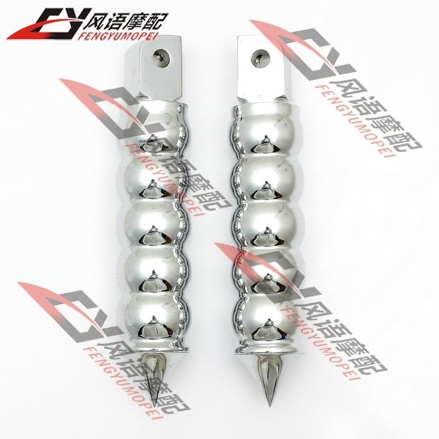 2x аксессуаров алюминия задний подножки для Harley круиз стид Magna