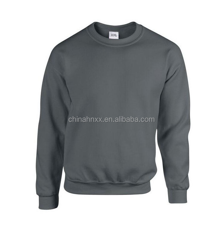 heavyblend adult crew neck cotton knitted sweatshirt