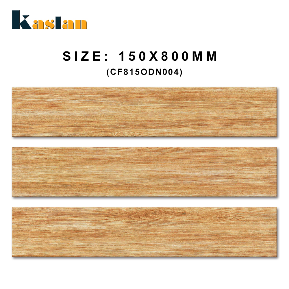 150x800 burlywood color wood grain looking ceramic parquet wood floor tiles for living room