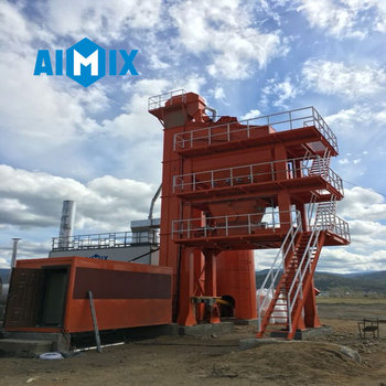 High quality hot mix bitumen asphalt mixing plant made in China