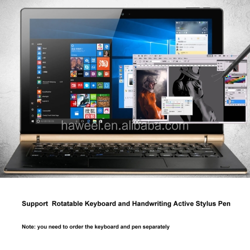 ONDA oBook 10 Pro, 4GB+64GB CE / FCC / ROHS / WEEE Certificated, 10.1 inch IPS Screen, Windows 10 Home OS, Intel Atom X7-Z8700