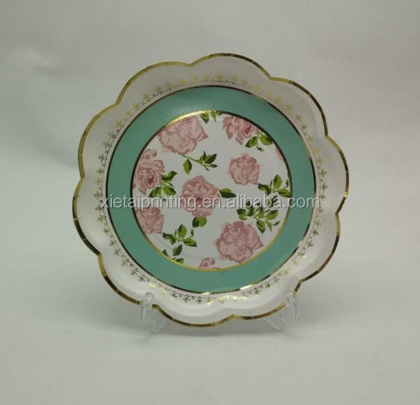 lace paper plates lace paper plates suppliers and manufacturers at alibabacom - Decorative Paper Plates