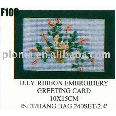 F103 D.I.Y Cross stitch greeting card