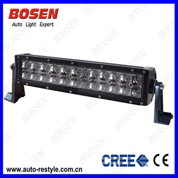Hot Selling 12 Inch Led Light Bar 72w Cree Chip 24pcs*3w With 3d ...