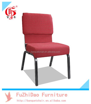 Fashionable Appearance Church Chair Type With Metal Iron