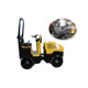 Ride-on mini vibro road compactor roller