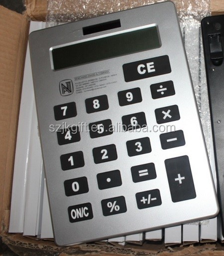 2015 new design big size desktop calculator