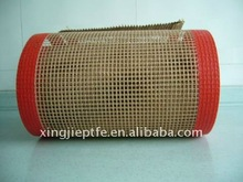 PTFE Teflon Textile Relax Dryer Mesh Belt with edges binding and joints fixed