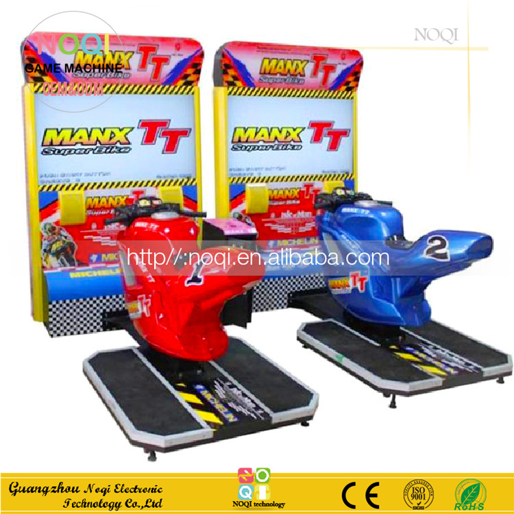 NQR-B01 kids muntautomaat TT motor rijden simulator japan arcade games voor game center