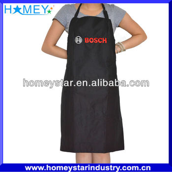High quality kitchen apron with printed logo