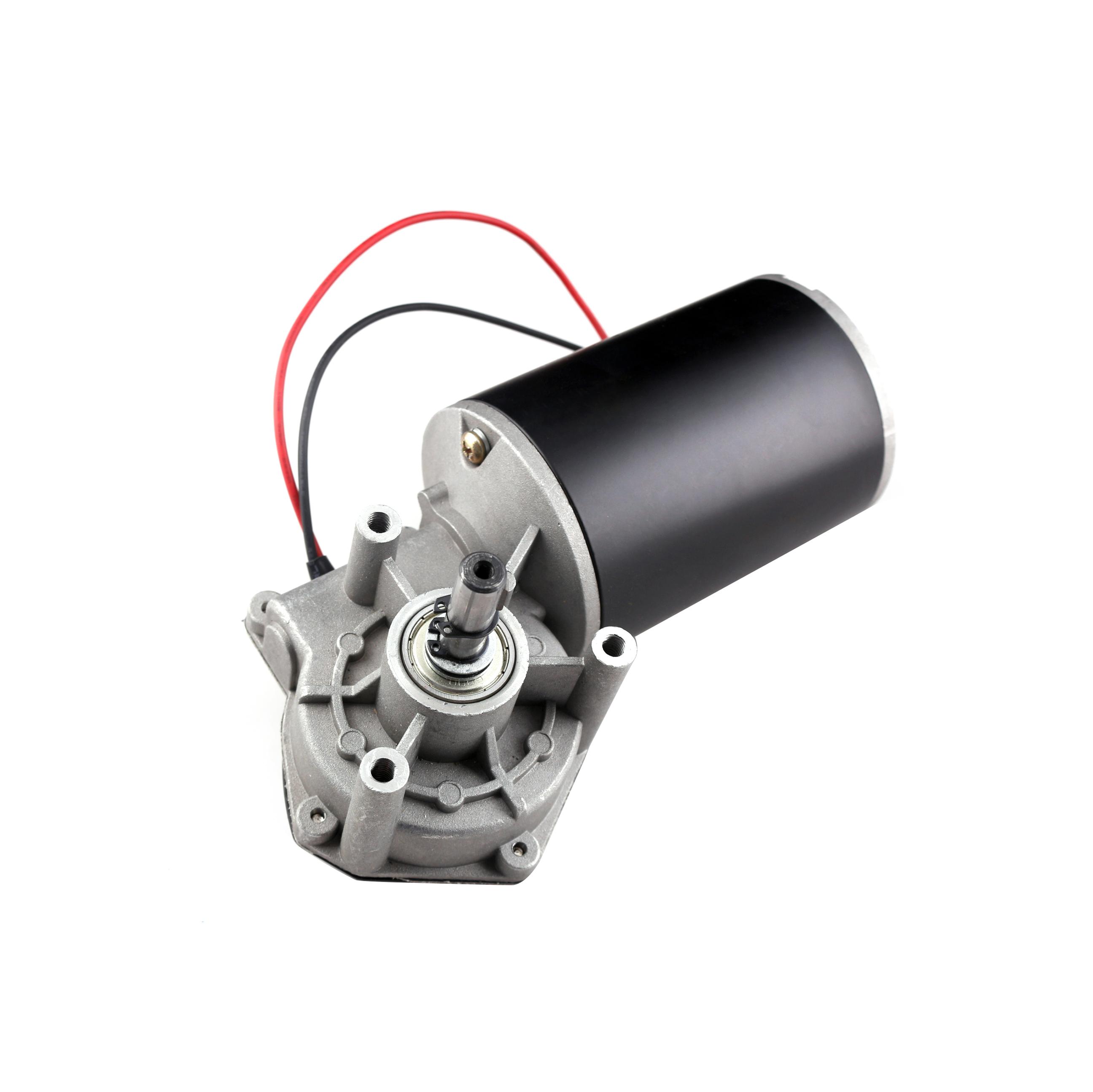 24V DC мотор-редуктор 24V матовый медный червячный микро-мотор