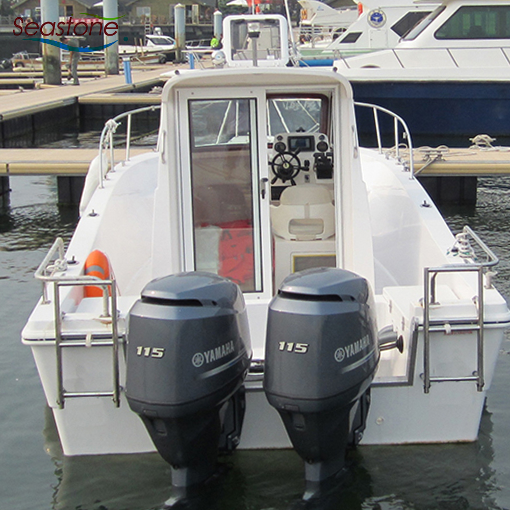 New Fiberglass Cabin Cruiser Japan designed Boats