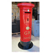 steel red mailbox large post box for sale / mailbox supplier