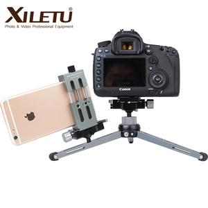 XILETU XT-15+BS-1 Professional lightweight Mini cell Phone Tripod for cell phone & camera