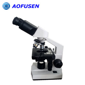 B105 Observe blood cell binoculars laboratory microscope