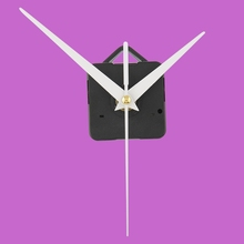 High Quality Quartz Useful Clock Movement Wall Amounted Mechanism DIY Repair Parts & White Hands Hour Minute Second Hand